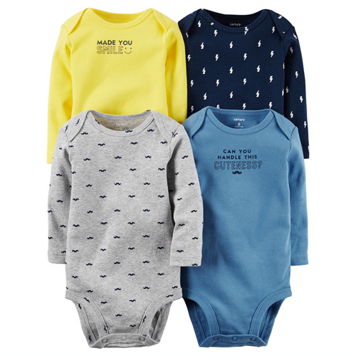 [126G338B149] Carter's4-Pack Original Bodysuits