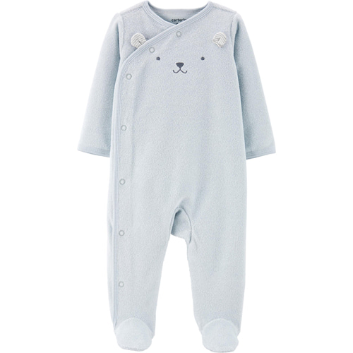[17921510QD] Carter'sKoala Side-Snap Terry Sleep & Play