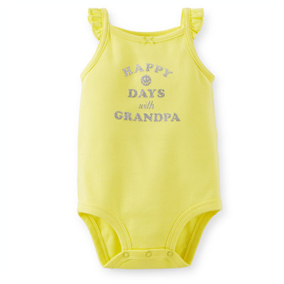 [111A496KF] Carter'sHappy Days Bodysuit