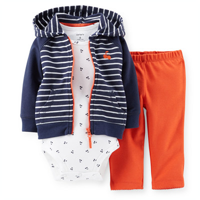 [121D087KK] Carter'sHooded Cardigan Set