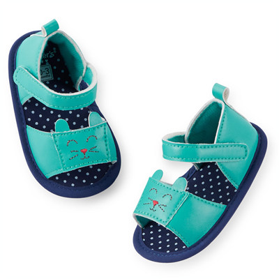 [29210A41] Carter'sKitty Sandal Crib Shoes
