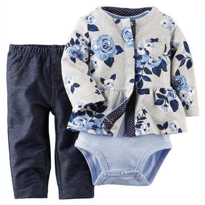 [121G074MM] Carter's3-Piece Cardigan Set