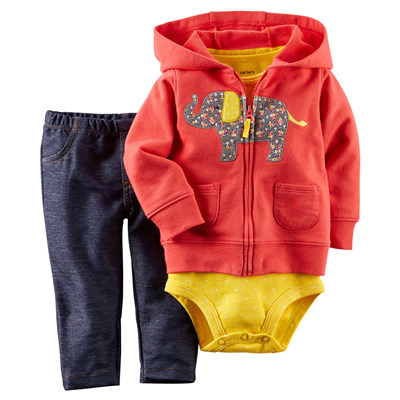 [121G069LO] Carter's3-Piece Cardigan Set