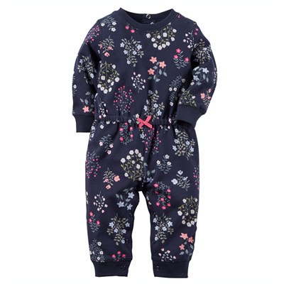 [118G006LQ] Carter'sFrench Terry Jumpsuit