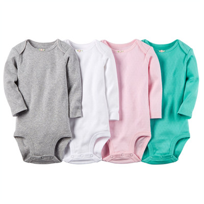 [111A563B121] Carter's4-Pack Long-Sleeve Bodysuits
