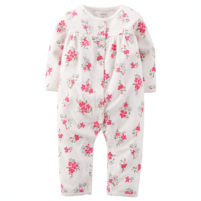 [118G017ME] Carter'sPrinted Fleece Jumpsuit