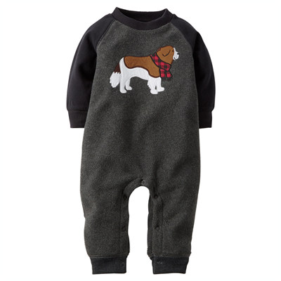 [118G032MG] Carter'sRaglan Fleece Jumpsuit