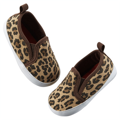 [51016A43] Carter'sLeopard Print Slip-On Shoes