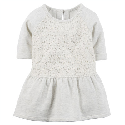 [235G137MT] Carter'sPeplum Lace Tunic