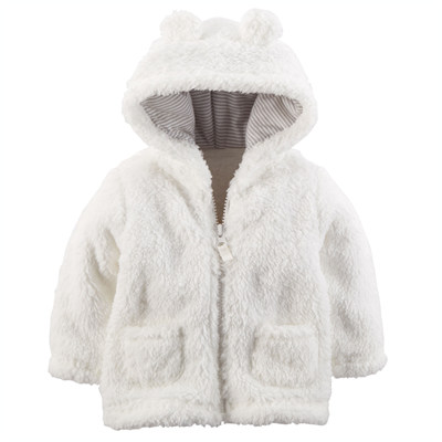 [127G078B23] Carter'sHooded Sherpa Jacket