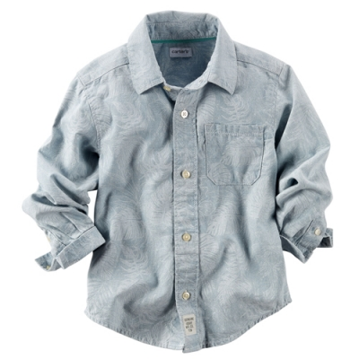 [225B601LM] Carter'sButton-Front Shirt