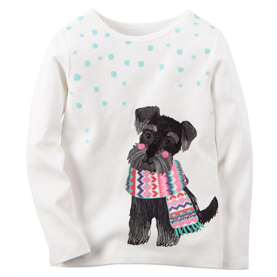 [235G018NC] Carter'sScottie Dog Tee