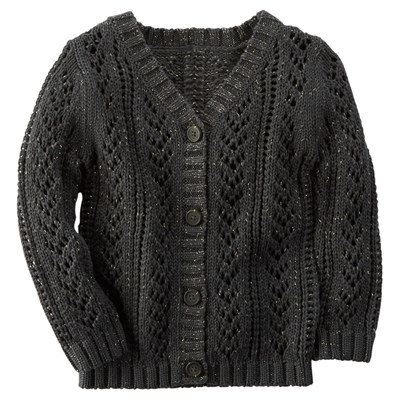 [235G107NM] Carter'sSparkle Cardigan