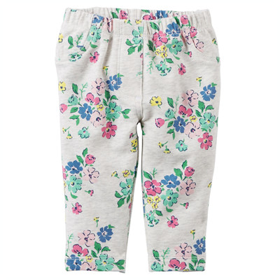 [118G416OC] Carter'sFloral French Terry Pants