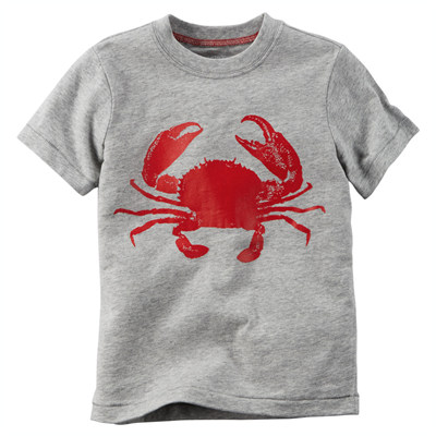 [225G359OF] Carter'sCrab Tee