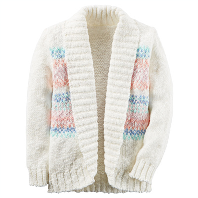 [235G415OT] Carter'sSouthwestern Open Shawl Cardigan