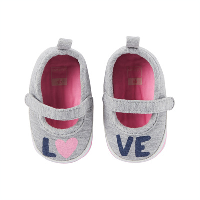[13750A41] Carter'sMary Jane Sneaker Crib Shoes