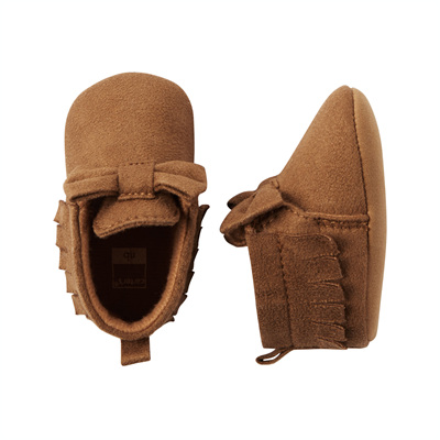 [14112A43] Carter'sMoccasin Crib Shoes