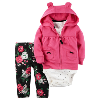 [121G770PE] Carter's3-Piece Little Jacket Set