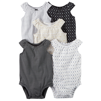 [126G548B153] Carter's5-Pack Tank Top Bodysuits