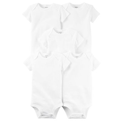 [126G775] Carter's5-Pack Original Bodysuits