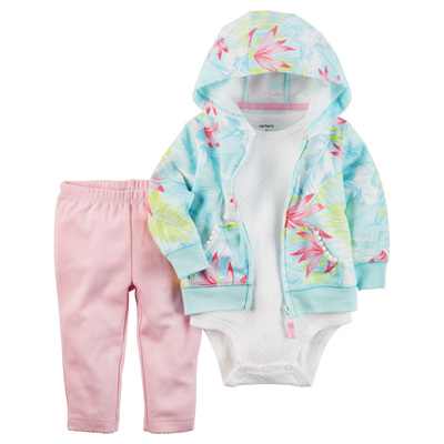 [121H255QN] Carter's3-Piece Little Jacket Set