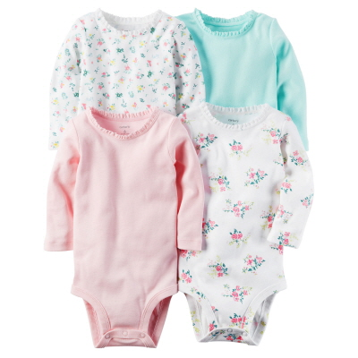 [126G872B173] Carter'sLong-Sleeve Original Bodysuits