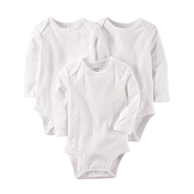 [126G780B191] Carter'sLong-Sleeve Original Bodysuits