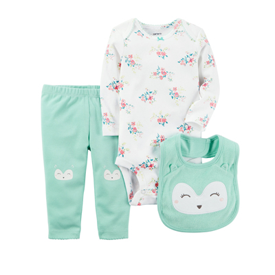 [126G841RD] Carter's3-Piece Little Character Set