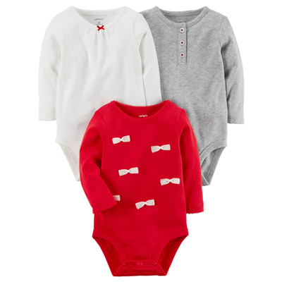 [127G754B176] Carter'sLong-Sleeve Original Bodysuits