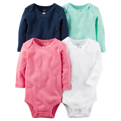 [126G873B184] Carter'sLong-Sleeve Original Bodysuits