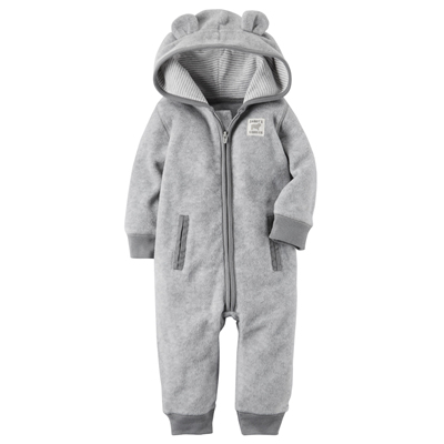 [118H620FS] Carter'sHooded Fleece Jumpsuit