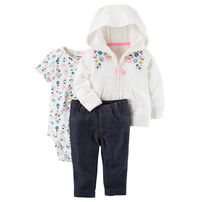 [121H855HS] Carter's3-Piece Little Jacket Set
