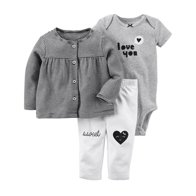 [126H188PZ] Carter'sBabysoft Little Jacket Set