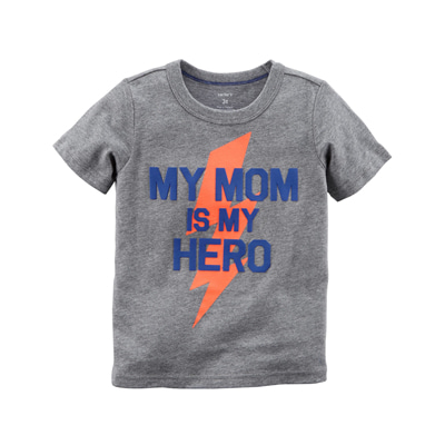 [225H397LL] Carter'sMom Is My Hero Jersey Tee