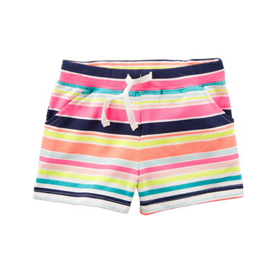 [236G675NH] Carter'sEasy Pull-On Knit Shorts
