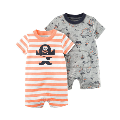 [121I229DR] Carter's2-Pack Rompers