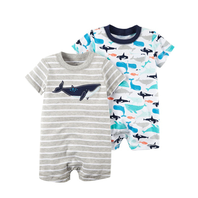 [121I230DR] Carter's2-Pack Rompers