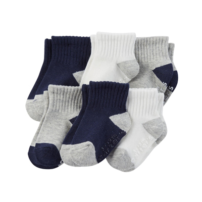 [CR03174AV] Carter's6-Pack Socks