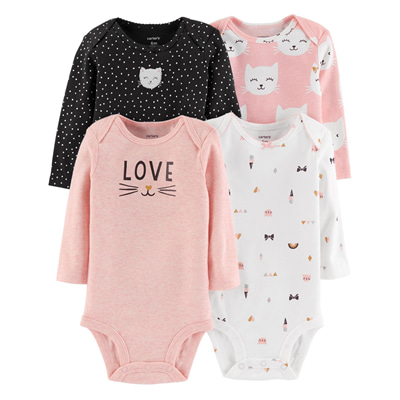 [126H709B139] Carter'sLong-Sleeve Original Bodysuits