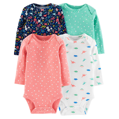 [126H570B201] Carter'sLong-Sleeve Original Bodysuits