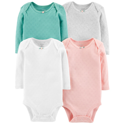 [126H571B167] Carter's4-Pack Hearts Original Bodysuits
