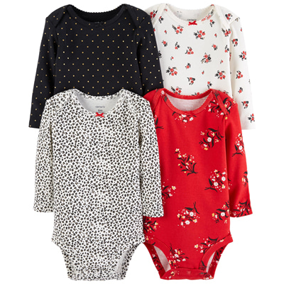 [126H754B175] Carter's4-Pack Original Bodysuits