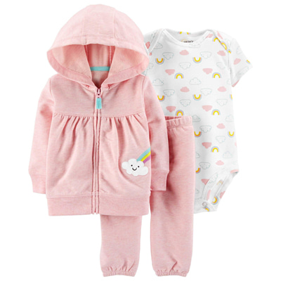 [16521910VH] Carter's3-Piece Little Jacket Set