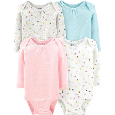 [17637010B134] Carter'sFloral Original Bodysuits