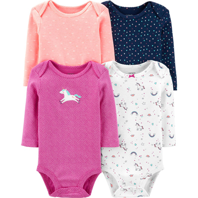 [18138110B103] Carter'sUnicorn Original Bodysuits