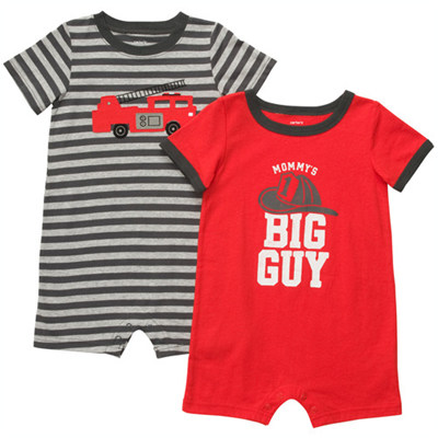 [#202A216BS] Carter's2-Pack Romper Set
