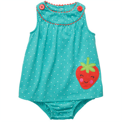 [#216A233BS] Carter's1-Piece Knit Sunsuit