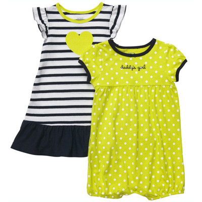 [#216A264BT] Carter'sRomper & Dress Set