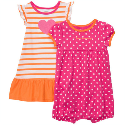 [#216A262BT] Carter'sRomper & Dress Set